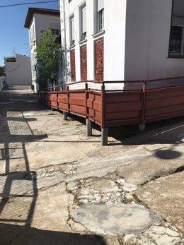 Fotografía CEIP en Siles