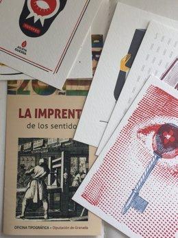 Imprenta tipográfica de la Diputación de Granada