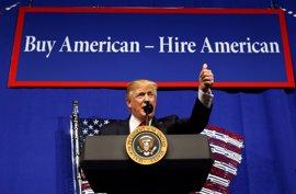 Galería: Los 100 primeros días de Trump en la Casa Blanca en imágenes
