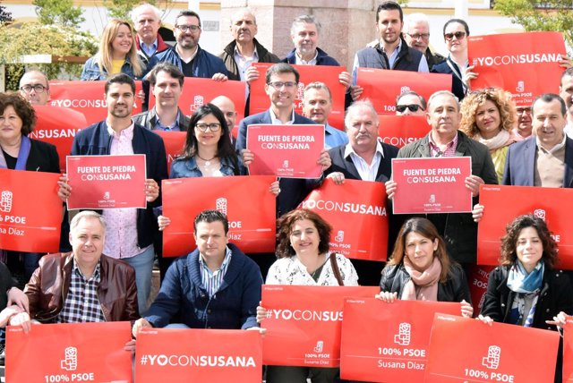 Grupo apoyo psoe susana díaz candidatura secretaría general antequera