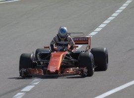 Alonso abandona antes de comenzar el Gran Premio de Rusia