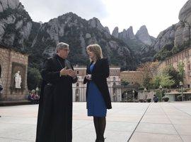 El abad de Montserrat cree que el Vaticano reconocería a una Catalunya independiente
