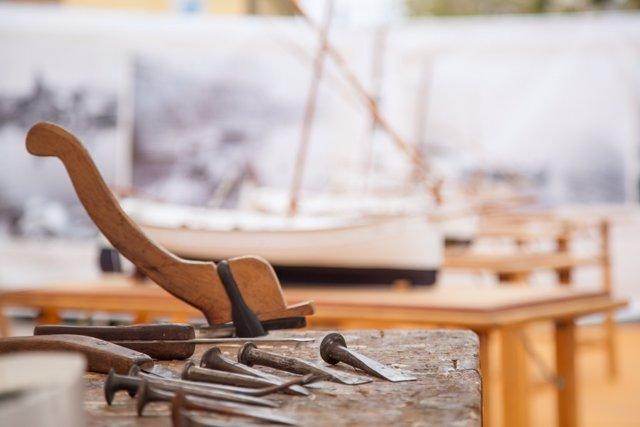 Detalle carpintería de ribera