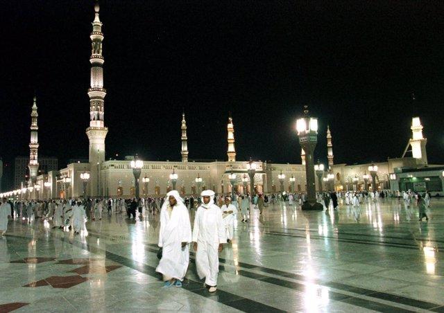 La Mezquita del Profeta en Medina