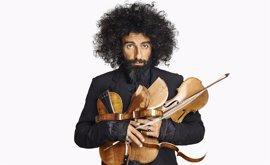 Ara Malikian actuará en el Palacio de los Deportes de Logroño el próximo 24 de junio