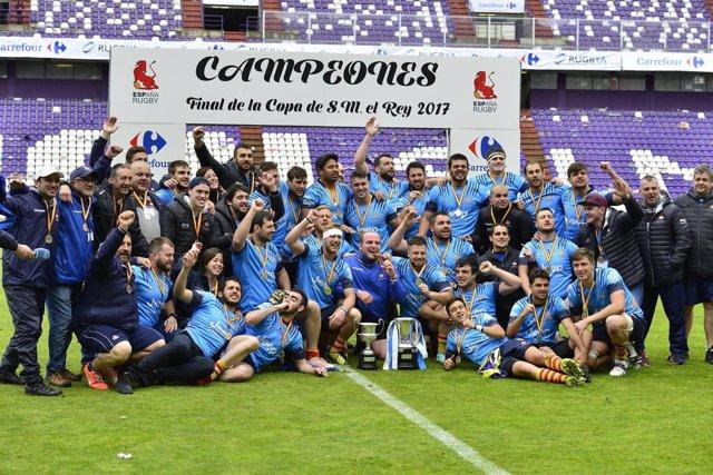 Unió Esportiva Santboiana campeón Copa Rey