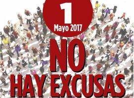 CCOO y UGT piden empleo estable y aumento de salarios este 1 de mayo