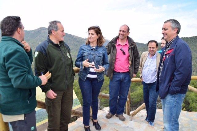 La Junta desarrolla un plan de mejora en el Parque Natural Sierra de Baza