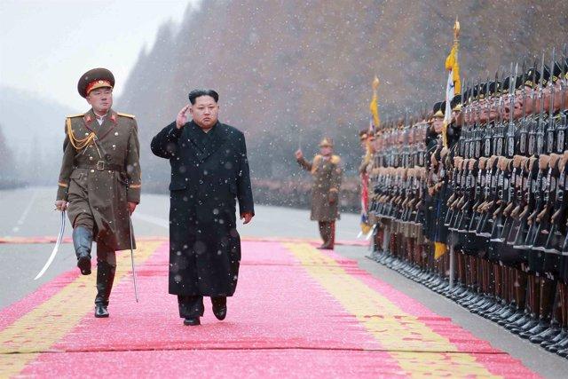 El dirigente de Corea del Norte, Kim Jong Un