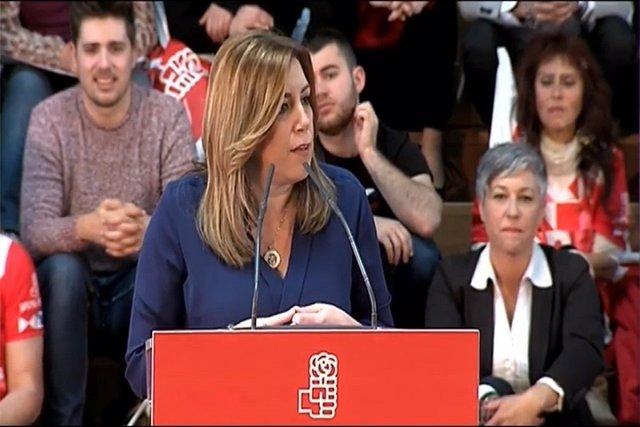 """Susana Díaz no permitirá que nadie """"humille"""" al PSOE"""