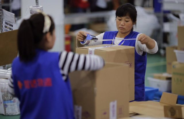 Trabajadoras chinas