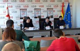USO se moviliza en Oviedo por el salario, el empleo digno y la justicia social el 1 de Mayo