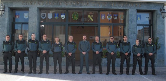 Refuerzo de la Guardia Civil en el puerto de Algeciras