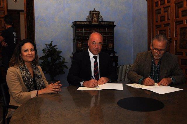 La Diputación de Córdoba renueva su colaboración con Acansa