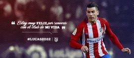 Lucas Hernández renueva con el Atlético hasta 2022