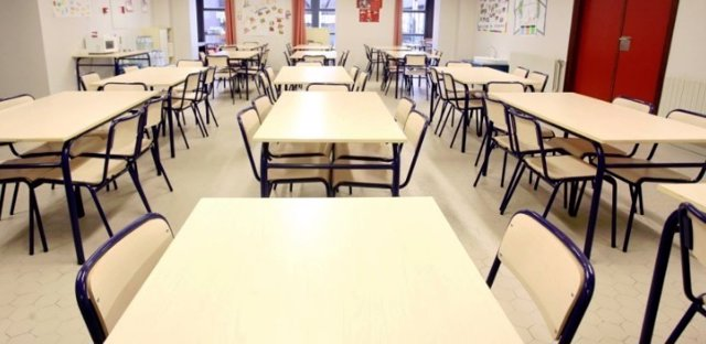 Un aula de un centro educativo