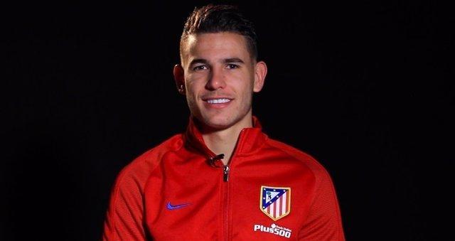 Lucas Hernández, jugador francés del Atlético de Madrid