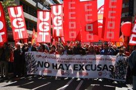 CC.OO. y UGT reclaman acabar con la precariedad en el empleo