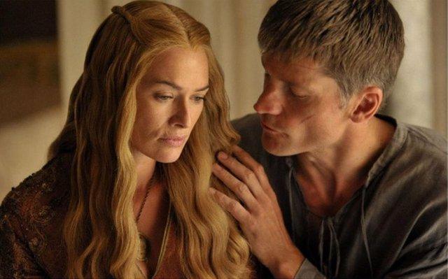 Jaime y Cersei Lannister en Juego de Tronos