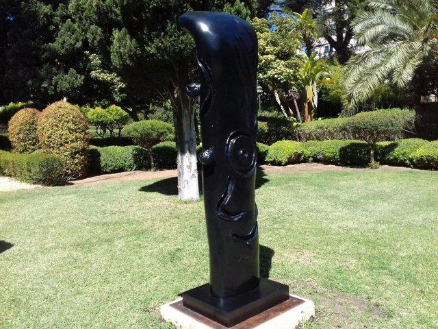 Palacio Marivent, Jardines, Joan Miró, escultura, Recurso