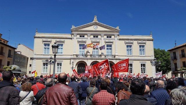 Palencia. 1 de mayo. Palencia