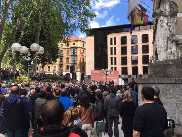 LAB celebra el 1 de Mayo en Bilbao