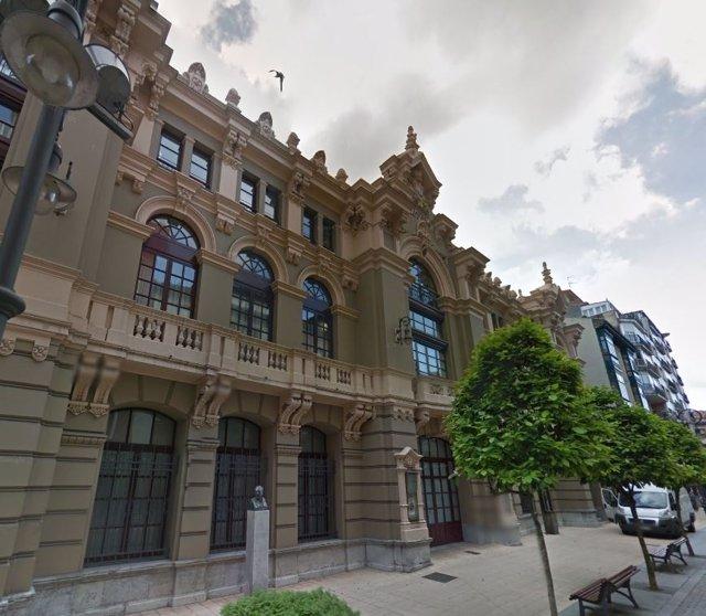 Teatro Palacio Valdés en Avilés