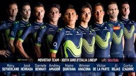 Quintana liderará al Movistar Team en su reto de lograr el doblete en el Giro