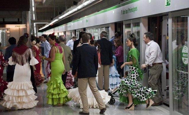 Nota Prensa: Metro De Sevilla Duplica Su Oferta De Transporte Durante El Plan Es