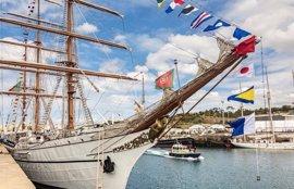 Un total de 11 grandes veleros de época viajan rumbo a Las Palmas de Gran Canaria