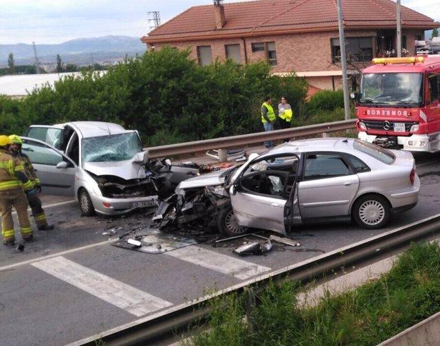 Accidente en Villamediana