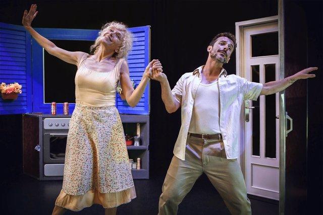 Imagen del musical 'Pareja Abierta'