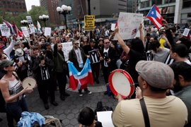 Las marchas del 1º de Mayo en EEUU expresan el rechazo a la política migratoria de Trump