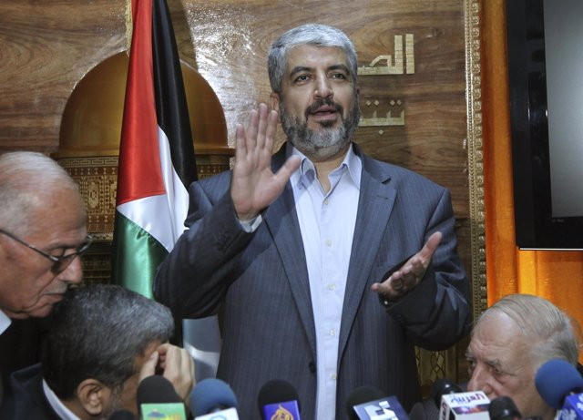 Jaled Meshal, Lider del movimiento palestino Hamas