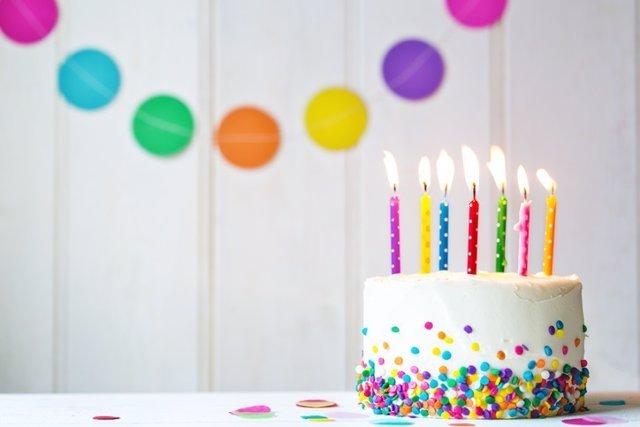 Tarta, cumpleaños
