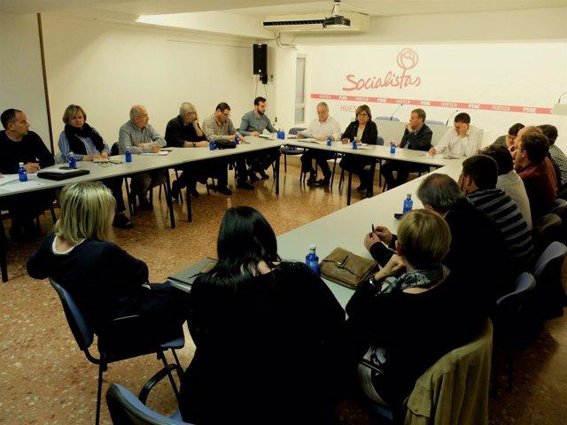La Comisión Ejecutiva del PSOE del Alto Aragón