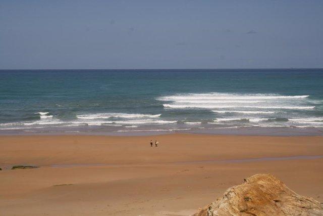 Playa Canallave. Piélagos. Cantabria. PLAYA. MAR. VACACIONES. TURISMO. LITORAL