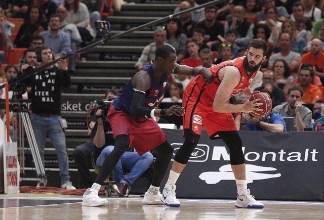 Bojan Dubljevic, pívot del Valencia Basket