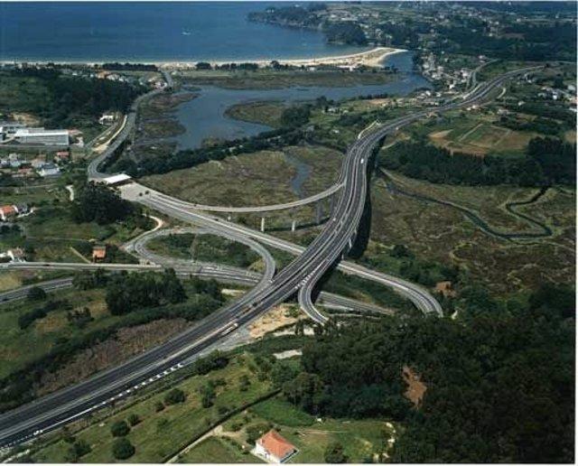Audasa, autopista AP-9 Ferrol-frontera portuguesa