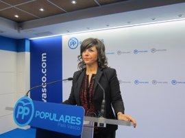 """Llanos espera que el PP de Bizkaia llegue al Congreso """"con una sola candidatura"""""""