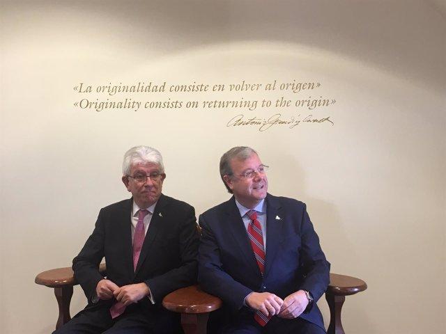 José Ángel Hermida y Antonio Silván