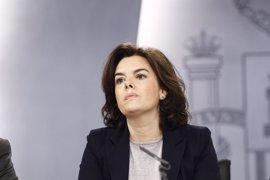 """Santamaría dice que hay que """"hay que trabajar mucho"""" en Madrid tras la caída del PP en las encuestas por la corrupción"""