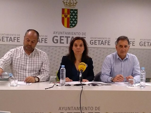 Sara Hernández en rueda de prensa