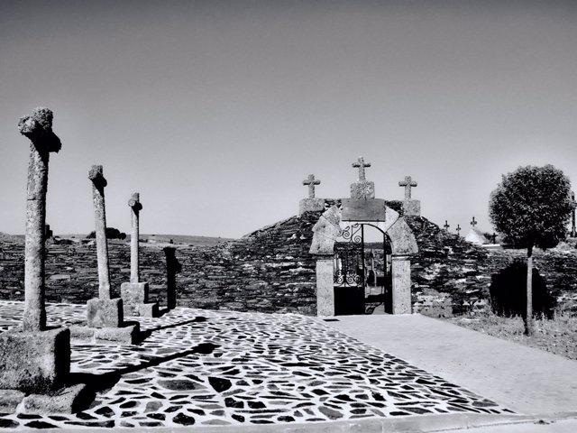 Cementerio de Salvatierra de Tormes.