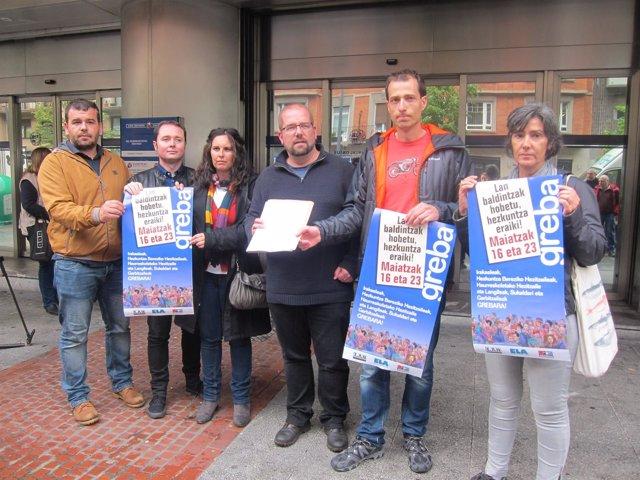 ELA, LAB Y Steilas Convocan Huelga En La Enseñanza