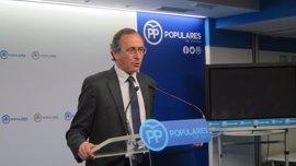 """Alonso espera que el PNV actúe contribuya a la estabilidad """"en el conjunto de España"""""""