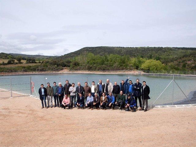 Proyecto de modernización de regadíos inaugurado por Ceniceros