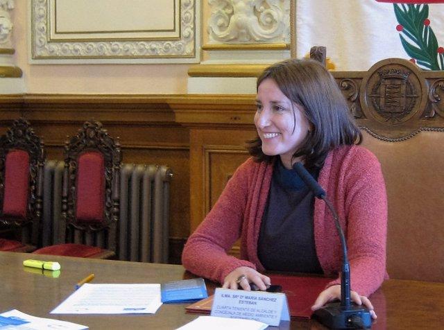 La concejal de Medio Ambiente del Ayuntamiento de Valladolid