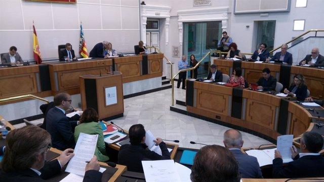 El pleno de la Diputación, este martes