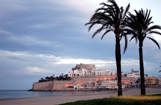 Imagen de Peñíscola (Castellón). Turismo. Turistas. Comunitat Valenciana.